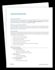 Leadership Meeting Toolkit